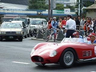 ラ・フェスタ・ミッレミリア 中田宏さんが乗る、MASERATI 150S(1956年)