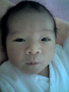 昨年生まれた、生後3日目の娘