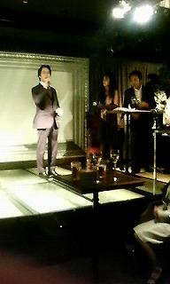 野坂社長のスピーチ