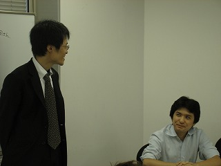 ガイアックス上田さんから、急に質問への回答を迫られて