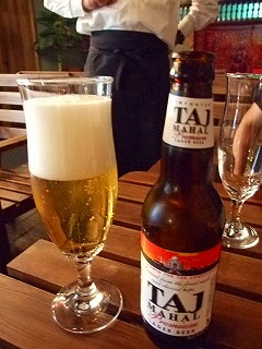 ビール「タージマハール」