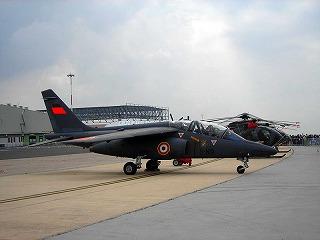 ダッソー/ドルニエ アルファジェット(Dassault/Dornier Alpha Jet)(ウィキペディアより)