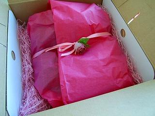 プレゼントの美しい包装