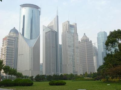 上海 浦東新区 高層ビル