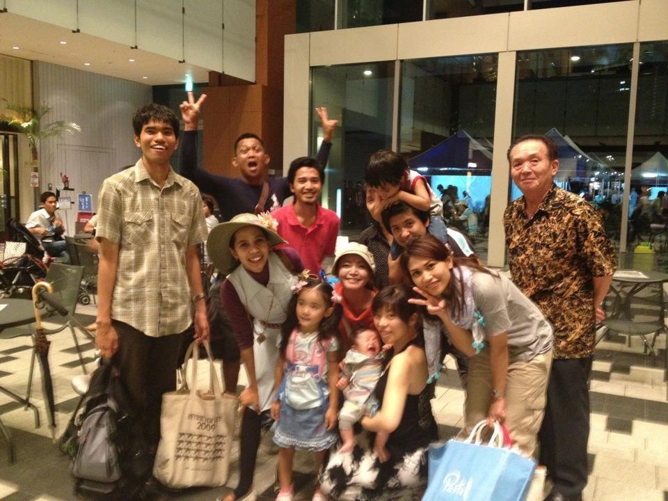 「インドネシアフェスティバル2012」で出会った友人たち