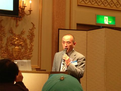 講師をつとめたホテルベッツの小峰勇さん
