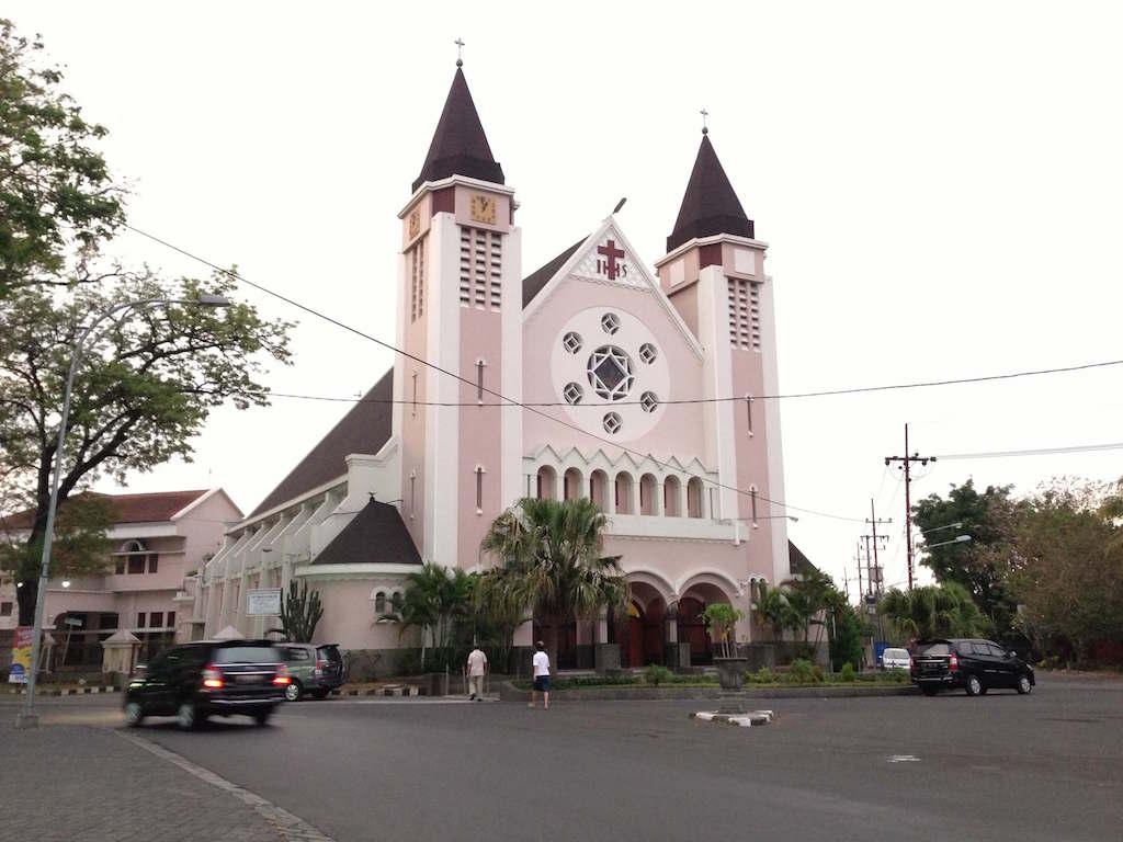 マランにあるオランダ時代の教会