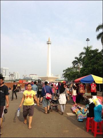 独立記念塔モナス インドネシア