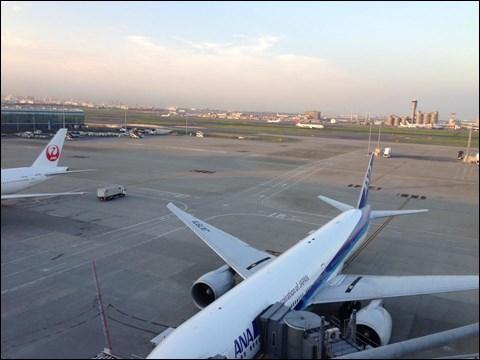 羽田空港 国際線ターミナル 展望台