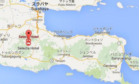 東ジャワ、バトゥの避暑地セレクタ(Selecta)