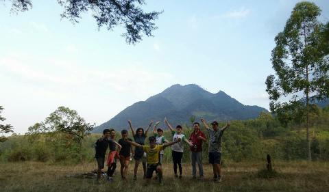 ハッシュ トレイルラン ウォーキング インドネシア 東ジャワ フランボヤン