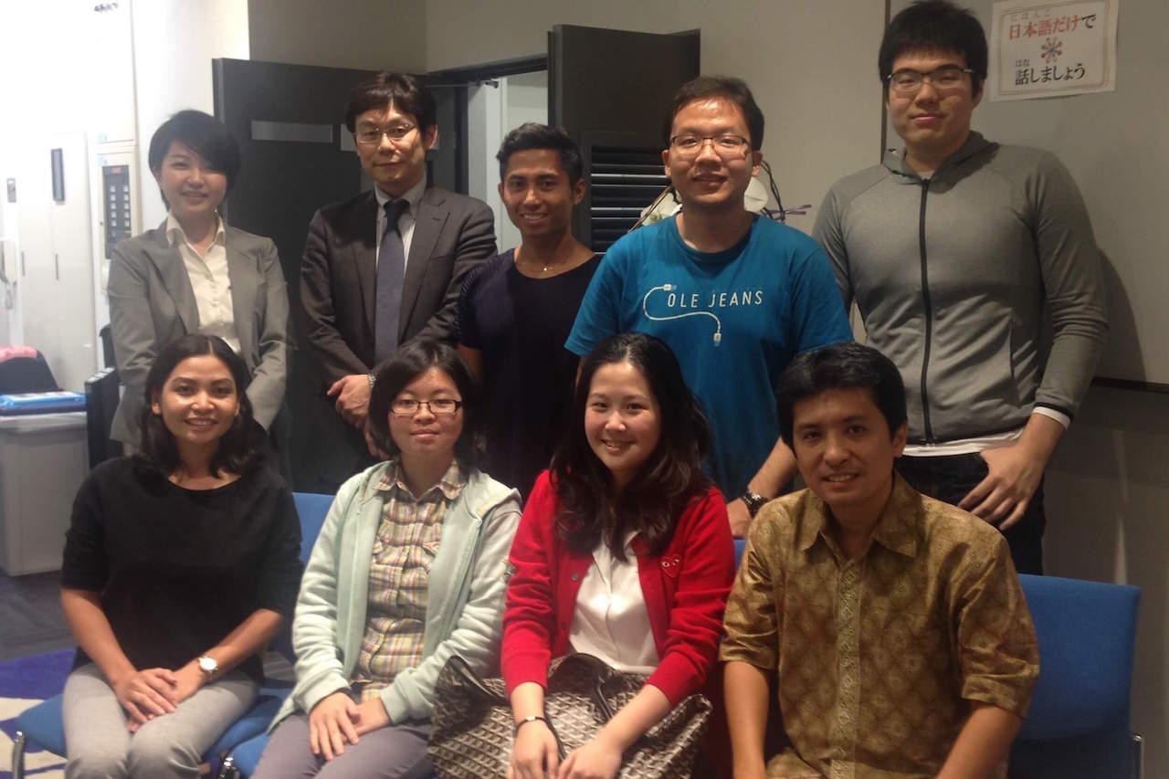 東京で日本語を勉強するインドネシアの若者たち