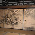 龍の襖絵 京都