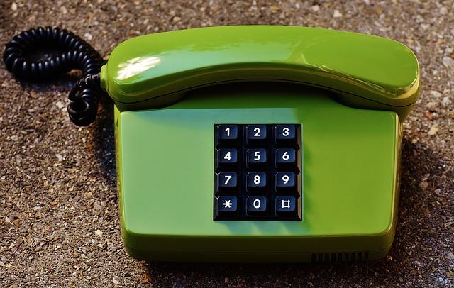 電話のある生活