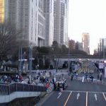 東京マラソン|当日の新宿のスタート地点を見学してみた