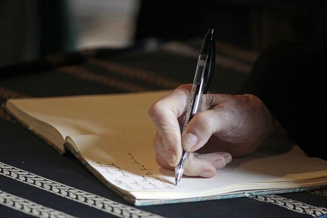 目標を書くと実現する