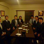 西新宿「割烹 栗吉」で、稲盛和夫さんの経営塾「盛和塾」社長メンバーのランチ会!