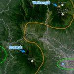 東ジャワ、ケルート山の噴火|半径35キロ圏の我が家に灰が来ない理由
