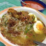 東ジャワの朝の市場|屋台で「ソトダギン」を食べたら涙の出る絶品!