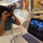 VRヘッドマウントディスプレイ「オキュラスリフト」(Oculus Rift) をジャカルタで試してみたよ!