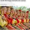 サマンダンス インドネシア無形文化遺産、不思議な現代的迫力の映像!