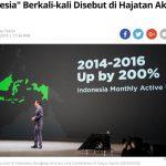 インドネシアLINEの快進撃|どこまで続く?国内ユーザー数2年で2倍!!
