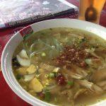 ソト・アヤム|東ジャワの高速道サービスエリアで庶民の味を堪能!