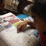 インドネシア滞在から1年半|8歳の娘が現地の新聞を読み始めた!