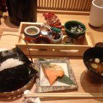 成田空港で和食|食事処「gihey」の朝食はファーストクラスな本格派!