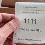 ジャカルタの空港「第3ターミナル」のタクシー乗り場はチケット制で便利!