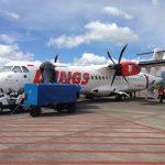 プロペラ機(ATR 72)搭乗記 バリ島から東ジャワのマランまで60分の旅!