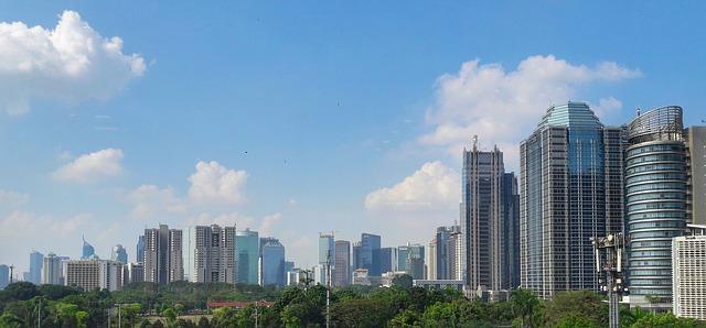 ジャカルタのビル街