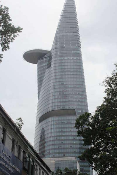 ホーチミンのビテクスコ・フィナンシャルタワー