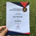 """""""Student of the month"""" di sekolah Indonesia, meskipun bukan orang Indonesia"""