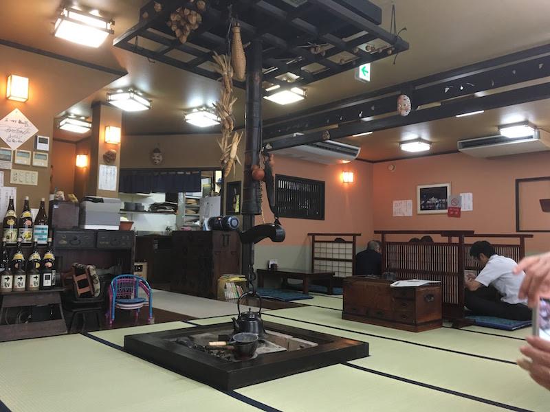 高崎駅の蕎麦 梅の花 高崎駅東口店