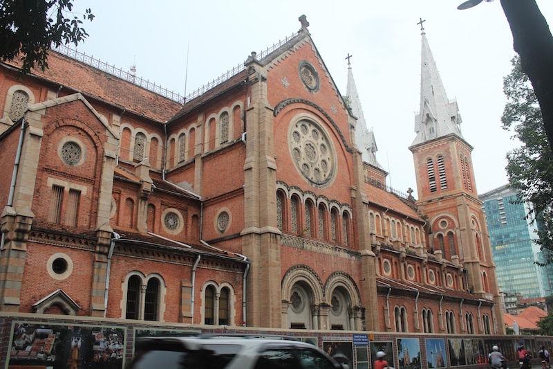 ホーチミンのサイゴン大聖堂