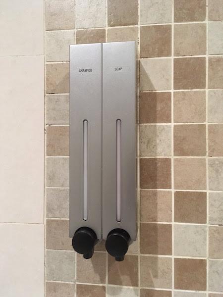 仁川国際空港のシャワーサービス