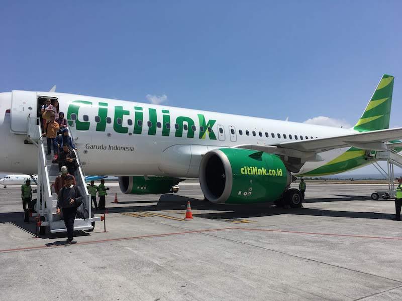 シティリンク航空 インドネシア