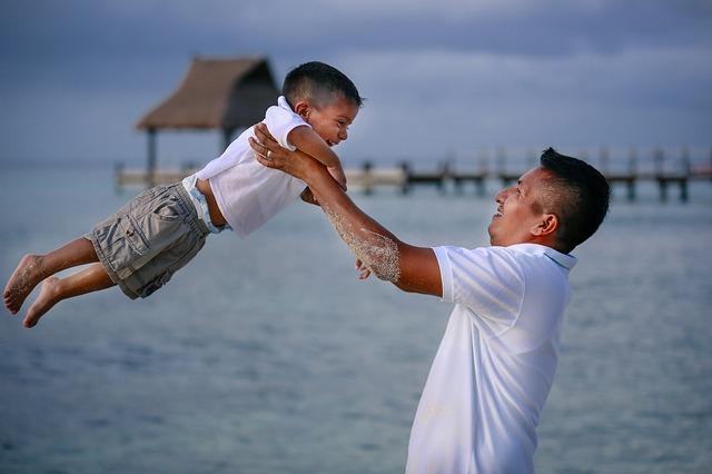 自分の人生を生きる幸せなお父さん