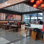 ジャカルタの空港第3ターミナル|寿司・麺料理の店でビールが飲める!