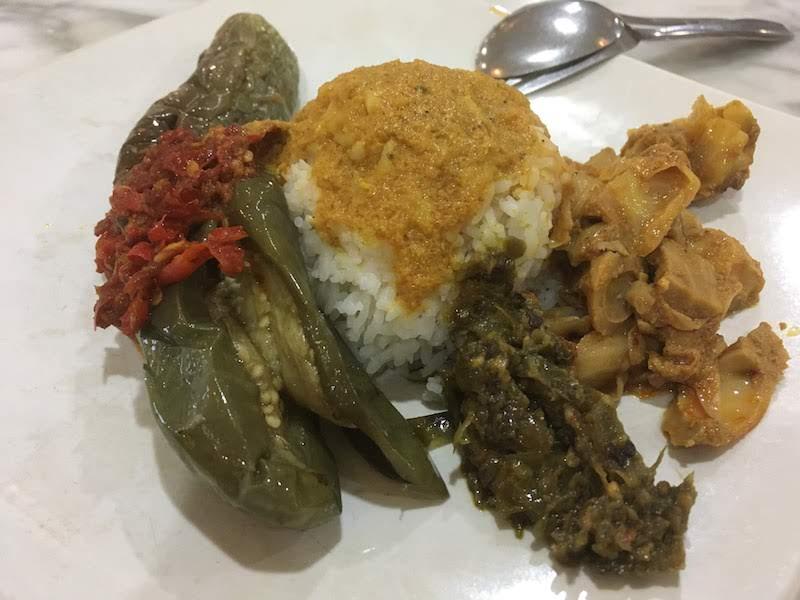 パダン料理 ジャカルタ 空港 シンガランジャヤ Singgalang Jaya