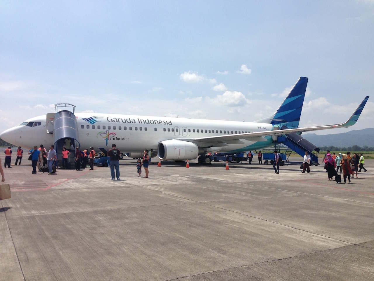 ガルーダ・インドネシア航空 インドネシア マラン