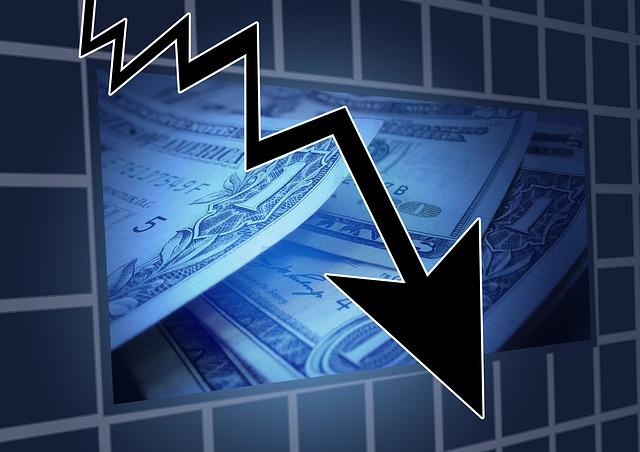 不動産市場の下落