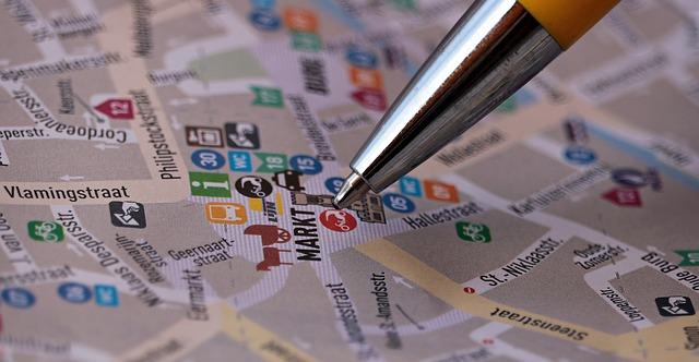 ストリートマップ 物件探し