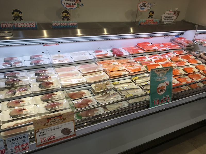 パパイヤ インドネシア スーパーマーケット