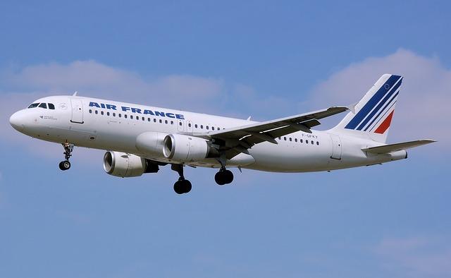 フランスの飛行機 エールフランス Air France