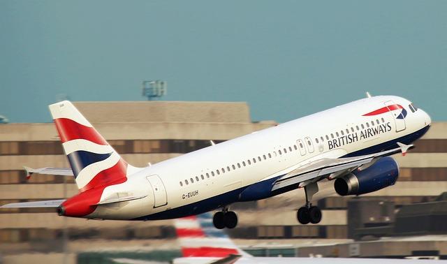 飛行機 ブリティッシュ航空 ブリティッシュ・エアウェイズ British Airways