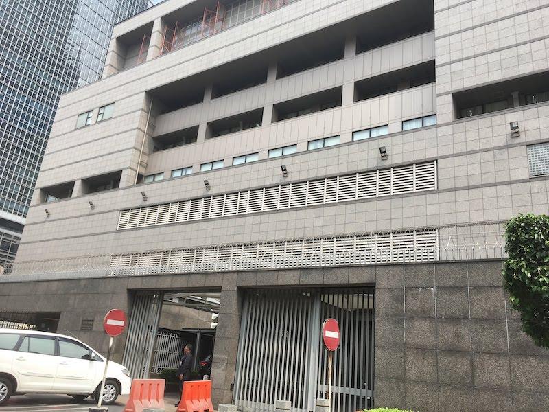 ジャカルタの日本大使館