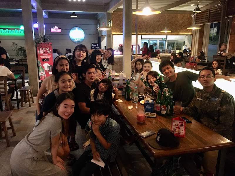 マラン 日本人 食事会