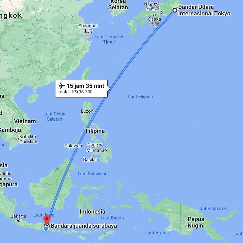 一時帰国 インドネシア 日本